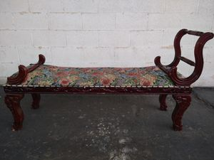 Antique bench chair for Sale in Riverside, CA