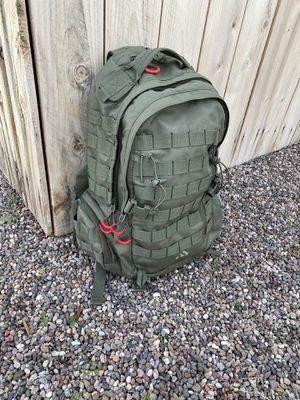 Army Green tactical outdoor hiking backpack for Sale in Phoenix, AZ