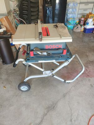 Bosch portable table saw for Sale in New Port Richey, FL