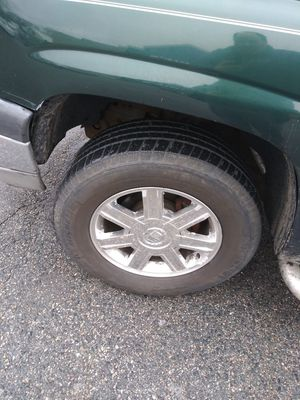 I have 5 18 inch tires and rims 6 lug fit silverado and cadillac escalade for Sale in Pawtucket, RI