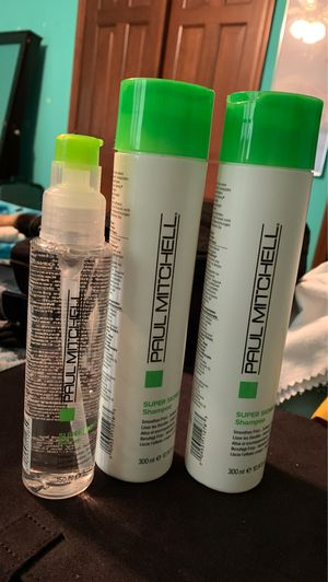 Paul Mitchell Super Skinny Shampoo, Conditioner, and Serum for Sale in Toledo, OH
