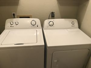 Amana Washer and Dryer for Sale in Paragould, AR