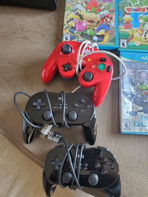 Nintendo wii u pro controllers for Sale in North Bergen, NJ