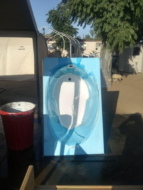 BATH TUB - FiberCareBaths OVAL DROP-IN BATHTUB