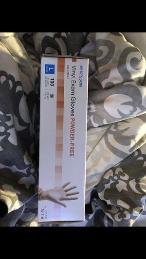 Vinyl exam gloves for Sale in Plantation, FL