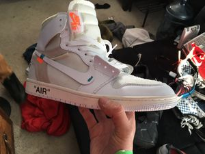 Jordan 1 retro high off whites for Sale in Zimmerman, MN