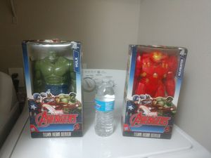 "MARVEL AVENGERS HULKBUSTER And HULK TITAN HERO SERIES ACTION FIGURE 12"" for Sale in Escondido, CA"