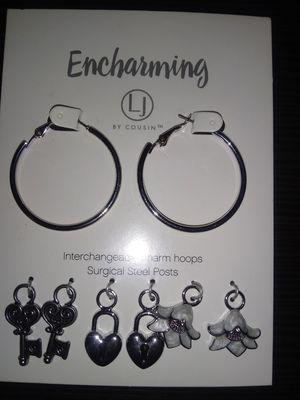 Engharming earring set for Sale in Portland, OR