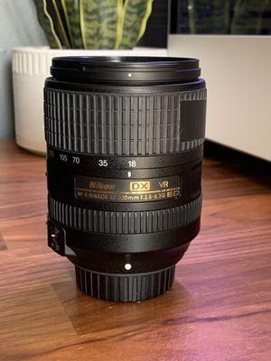 Nikon 18-300 mm DX lens for Sale in Murfreesboro, TN