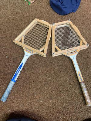 Retro tennis rackets for Sale in Hesperia, CA