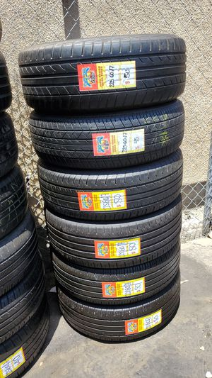 Used tires 225 60 17 good condition for Sale in Chula Vista, CA