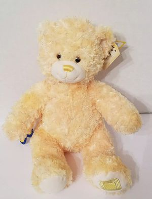 """NEW Build-A-Bear Gem of a Friend Topaz Yellow Sparkle 16"""" plush Teddy for Sale in Dale, TX"""