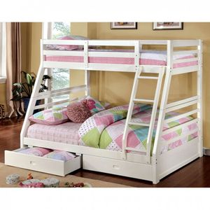Brand new bunk bed twin over full!!! for Sale in Sparks, NV