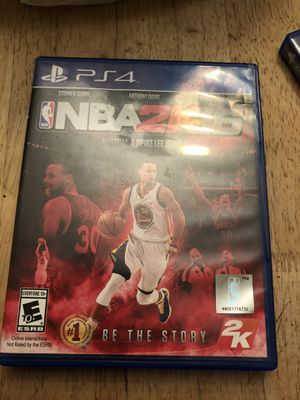 NBA 2k16 ps4 for Sale in Elmira, NY