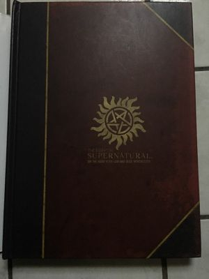 Supernatural Hard Cover Book for Sale in West Palm Beach, FL
