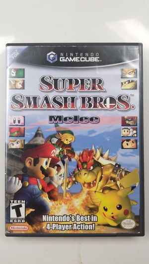 Black label. Super Smash Bros. Melee. Case and Disc. for Sale in Sunnyvale, CA