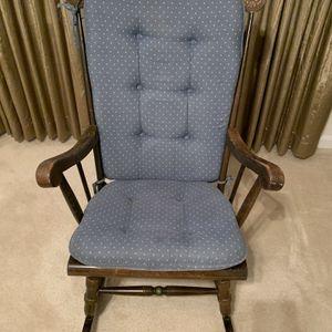 1976 Bicentennial Wooden Rocking Chair for Sale in Leesburg, VA