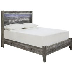 NEW IN THE BOX.STYLISH GREY FULL BED FRAME. SKU#TCB221-FULL for Sale in Huntington Beach,  CA