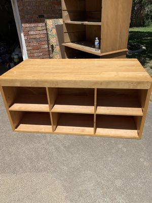 Real wood shelf units for Sale in Arlington, TX