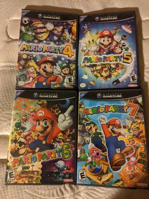 Mario Party 4 5 6 7 for Sale in Chula Vista, CA