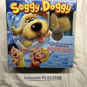 NEW Soggy Doggy Board Game for kids ages 4+ TOY OF THE YEAR AWARD! for Sale in Hallandale Beach, FL