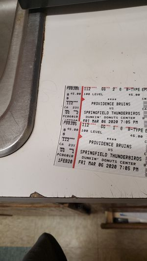 Providence Bruins tickets for Sale in Providence, RI