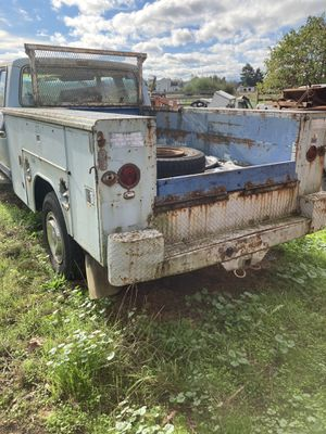 78 ford 3/4 ton. Utility box and parts for Sale in Yelm, WA