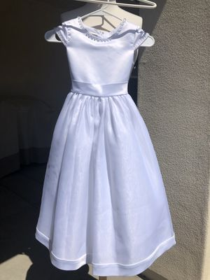Lauren Marie flower girl dress sz 7 for Sale in Phoenix, AZ