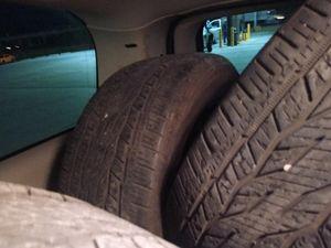 275/55r20 continental tires for Sale in San Antonio, TX