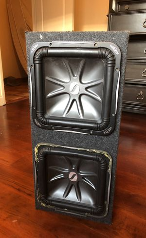 Kicker 12inch subwoofer Solo Baric for Sale in Miami, FL