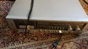 Realistic cassette stereo receiver synthesized Vintage for Sale in Cleveland, OH