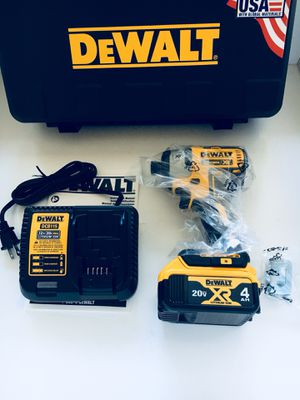 Dewalt XR 3 speed impact drill kit for Sale in Anaheim, CA