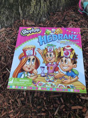 Shopkin Headbandz Board Game 5$ for Sale in Wallingford, CT