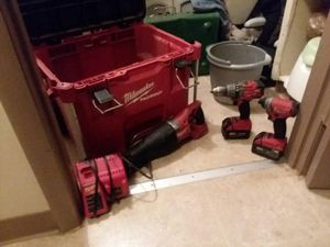 Milwaukee one key impact drill and zawzall for Sale in Kingsport, TN
