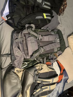 Hiking/outdoor backpacks for Sale in Fort Worth, TX