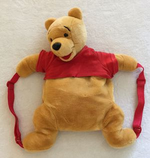 Vintage 90's Disney Winnie The Pooh Adult Backpack for Sale in Fresno, CA