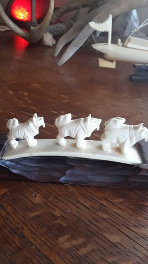 Dog sled,ivory for Sale in Richmond, CA