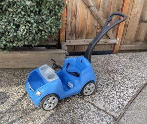 Step 2 Whisper Ride II Ride On Push Car, Blue for Sale in Pleasanton,  CA