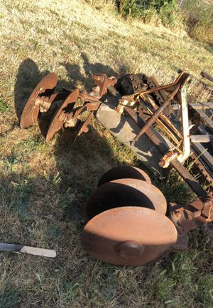 Tractor Ridger disc implement attachment equipment farm ranch 3 point for Sale in Tracy, CA