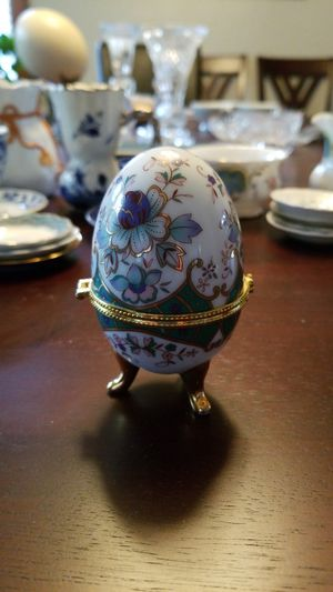 Porcelain Faberge Treasure Case for Sale for sale  Rockford, IL