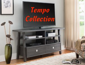 NEW, JARVIS TV STAND, SKU# 4808-GY for Sale in Huntington Beach, CA