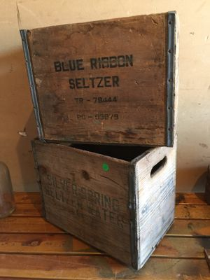 Vintage Shasta bottle crates - $65 EACH for Sale in Downey, CA