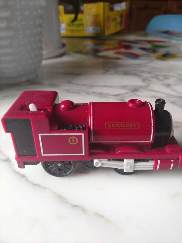 Skarloey of Thomas and friends trains battery operated