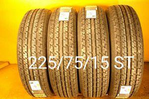 4 New tires 225/75/15 ST llantas nuevas for Sale in Chula Vista, CA