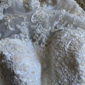 Cream Wedding Dress for Sale in Temple Hills, MD