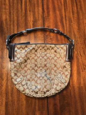 Coach hobo brown bag for Sale in McKinney, TX