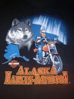 Harley Davidson 1995 Alaska Shirt for Sale in Newport News, VA