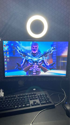 """Samsung odyssey 144hz curve monitor 24"""" for Sale in Brooklyn Park, MD"""