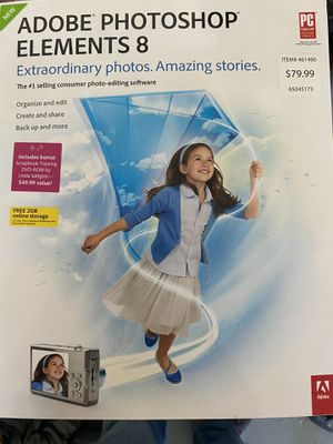 Adobe Photoshop for Sale in Lincoln, CA