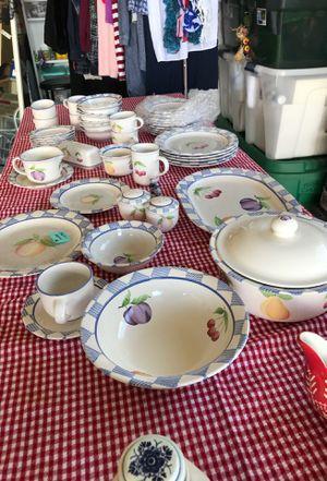 Pfaltzgraff Stoneware Dishes - Complete set for Sale in Camano Island, WA